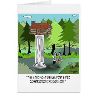 Cartão Desenhos animados 6369 da construção