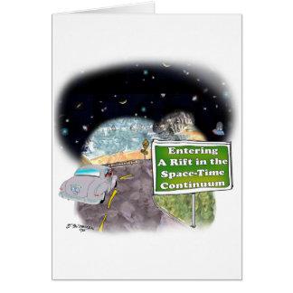 Cartão Desenhos animados 8800 do espaço