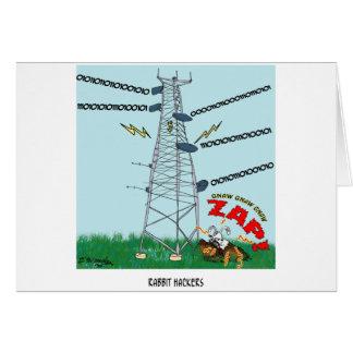 Cartão Desenhos animados 9191 do coelho