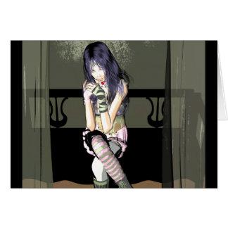 Cartão Desenhos animados de Wen