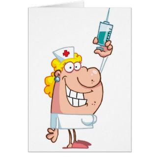 Cartão Desenhos animados impertinentes engraçados da