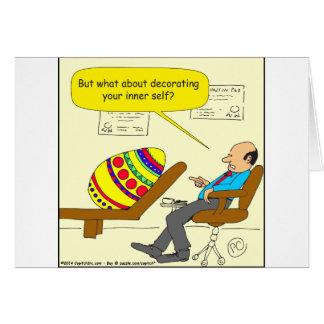 Cartão Desenhos animados internos do auto de 562 ovos da