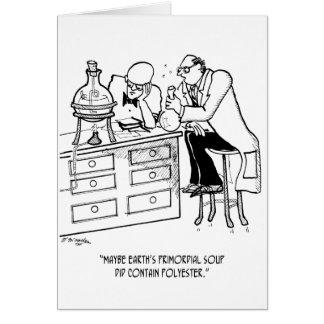 Cartão Desenhos animados Primordial 9477 da sopa