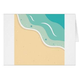 Cartão Design da égua e do mar: T-shirt