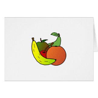 Cartão design da fruta