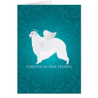 Cartão Design da simpatia da perda do animal de estimação
