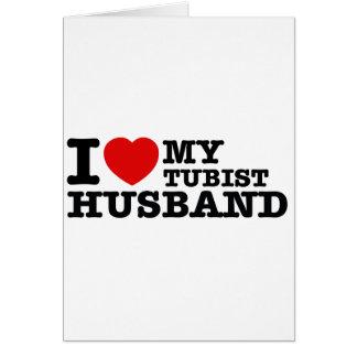 Cartão Design do marido de Tubist