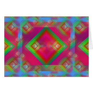 Cartão Design geométrico