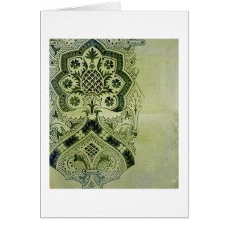 Cartão Design para um impressão eclesiástico do papel de