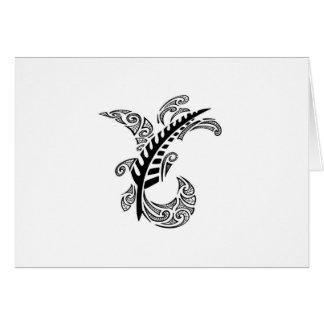Cartão Design tribal