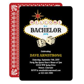 Cartão Despedida de solteiro do famoso de Las Vegas