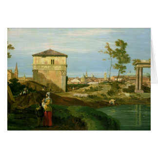 Cartão Detalhe 'de capricho com motivos de Padua