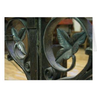 Cartão detalhe de trilho de altar do SPC