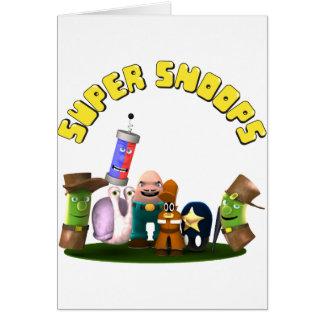 Cartão Detetives super do Jr. das espiões
