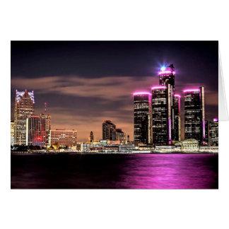 Cartão Detroit Notecard