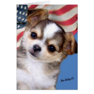 Cartão Deus abençoe América