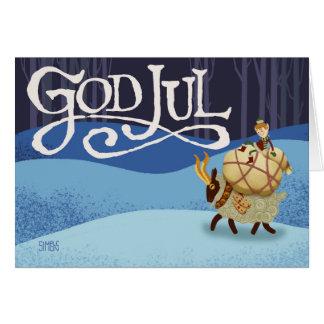 Cartão Deus julho