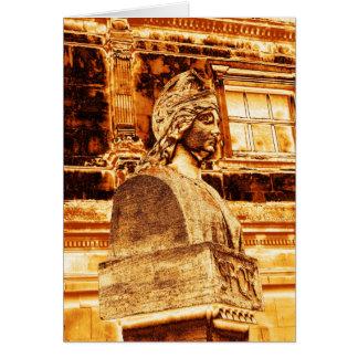 Cartão Deusa Minerva-Sulis