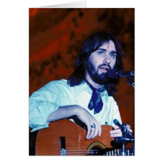 Cartão DF no concerto Notecard 1976