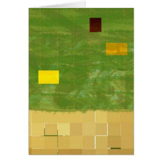 Cartão Dia 3 da génese: Vegetação 2014