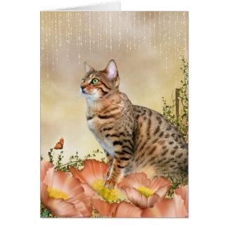 Cartão Dia chuvoso de Bengal