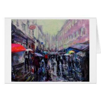 Cartão Dia chuvoso York