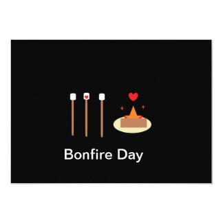 Cartão Dia da fogueira