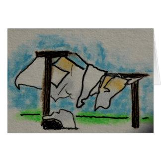 Cartão Dia da lavanderia
