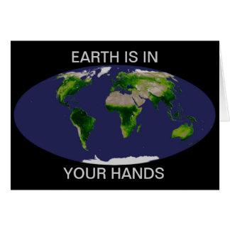Cartão Dia da Terra da NASA
