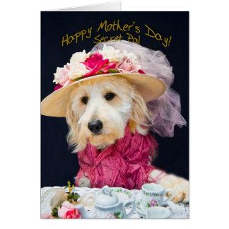 Cartão Dia das mães - amigo secreto - a coleção de Kati