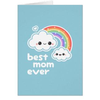 Cartão Dia das mães bonito