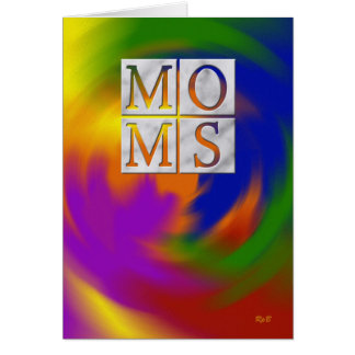 Cartão Dia das mães: Duas mães
