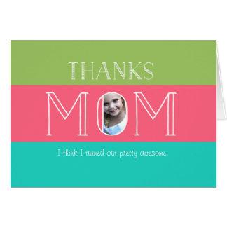 Cartão Dia das mães engraçado personalizado de |