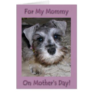 Cartão Dia das mães feliz - de seu melhor amigo!