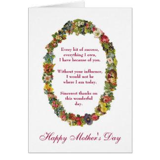 Cartão Dia das mães feliz sarcástico do psiquiatra