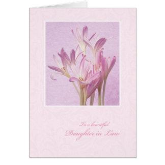 Cartão Dia das mães para a nora