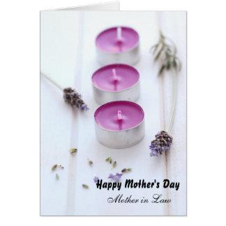 Cartão Dia das mães para a sogra