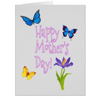 Cartão Dia das mães personalizado