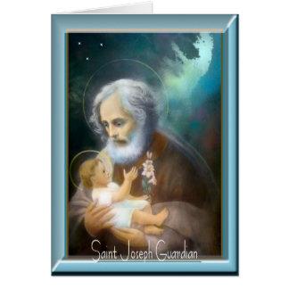 Cartão Dia de banquete de St Joseph