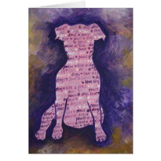 Cartão Dia de cão