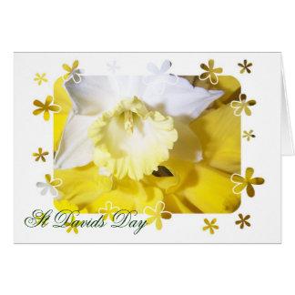 Cartão Dia de Davids da rua dos Daffodils