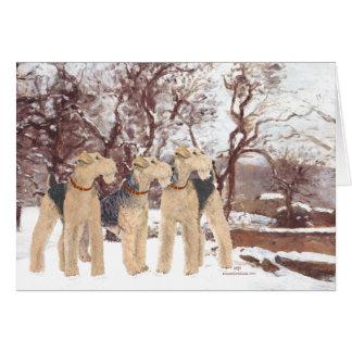 Cartão Dia de inverno