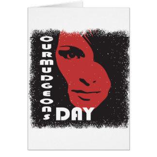 Cartão Dia dos Curmudgeons - dia da apreciação