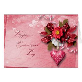 Cartão Dia dos namorados - arco do conjunto do coração