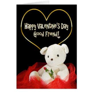 Cartão Dia dos namorados - BONS urso de ursinho do
