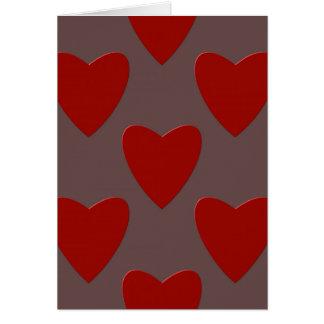 Cartão Dia dos namorados colorido do St. do amor do