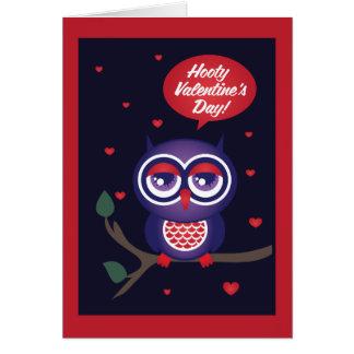Cartão Dia dos namorados de Hooty