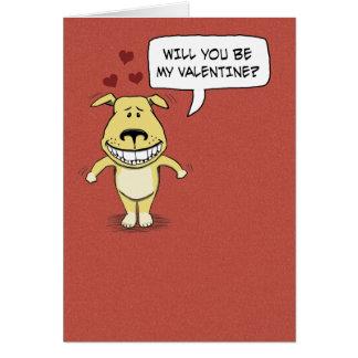 Cartão Dia dos namorados engraçado: Corcunda seu pé