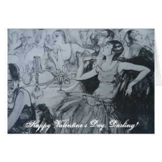 Cartão Dia dos namorados feliz, querido!