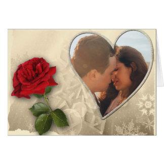 Cartão Dia dos namorados personalizado da foto
